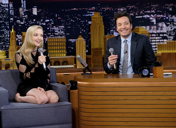"Amanda Seyfried「Amanda Seyfried & Daveed Diggs Visit ""The Tonight Show Starring Jimmy Fallon""」:写真・画像(11)[壁紙.com]"