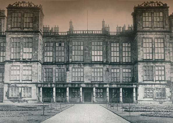 Elizabethan Style「Hardwick Hall, A Seat of His Grace The Duke of Devonshire, c1907」:写真・画像(9)[壁紙.com]
