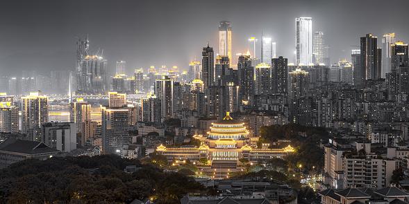 都市「Chongqing people's great hall」:スマホ壁紙(6)