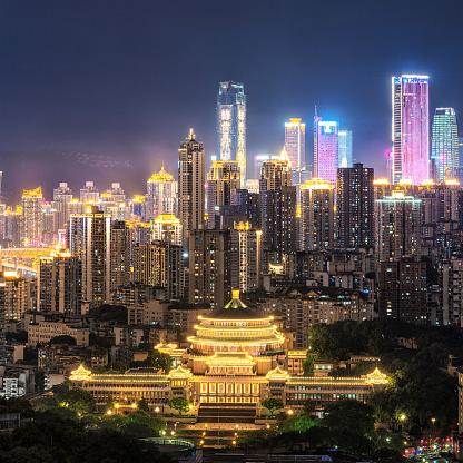 都市「Chongqing people's great hall」:スマホ壁紙(7)