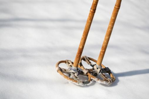 Ski Pole「Antique ski poles in the snow, Norway」:スマホ壁紙(17)