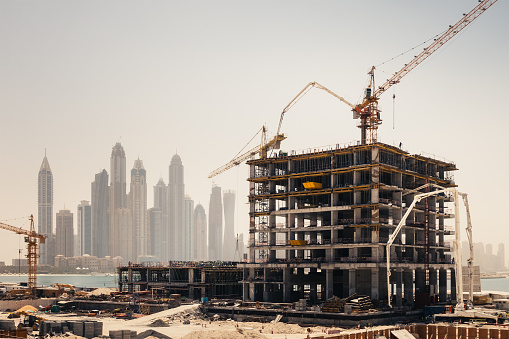 Middle East「Dubai Construction」:スマホ壁紙(3)