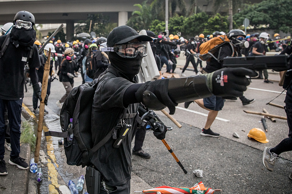 Gun「Unrest In Hong Kong During Anti-Government Protests」:写真・画像(19)[壁紙.com]