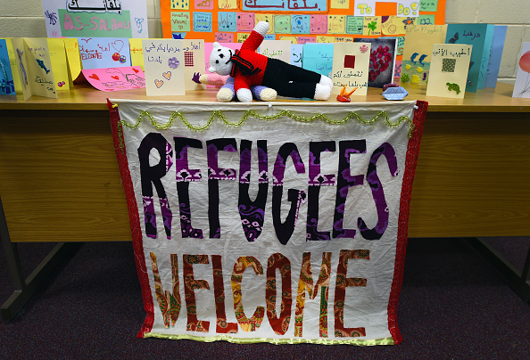 Greeting「Accommodation Is Prepared For Syrian Refugees Arriving In Northern Ireland」:写真・画像(1)[壁紙.com]