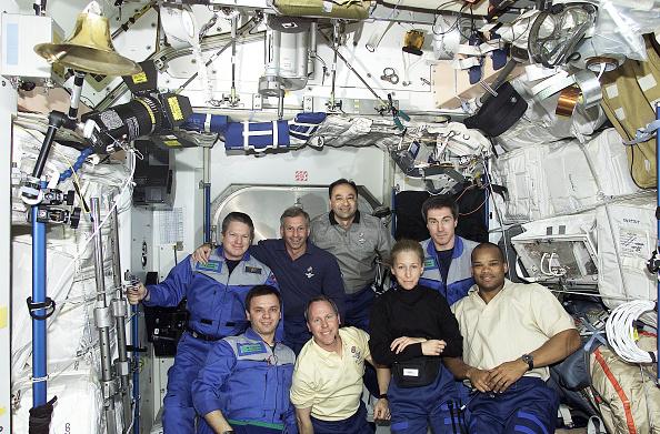 International Space Station「STS-98 Flight Day 3」:写真・画像(11)[壁紙.com]