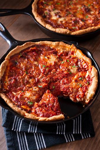 Cast Iron「Deep Dish Pizza」:スマホ壁紙(6)
