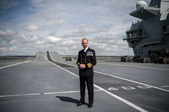 到着「Naval Aircraft Carrier HMS Queen Elizabeth Arrives Home To Portsmouth」:写真・画像(19)[壁紙.com]