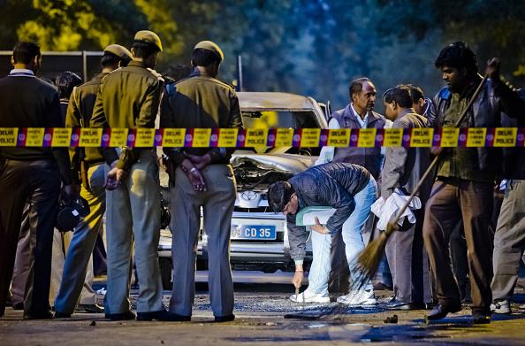 Delhi「Bomb Blast Strikes Israeli Embassy Vehicle In New Delhi」:写真・画像(0)[壁紙.com]