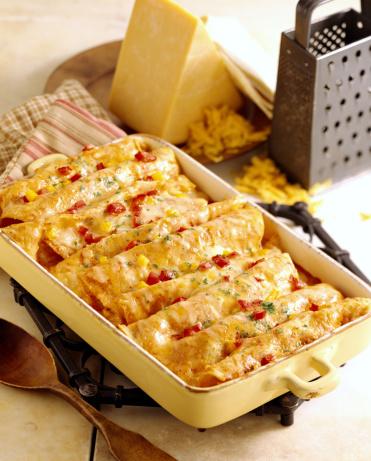 Tortilla - Flatbread「Cheesy enchiladas」:スマホ壁紙(0)