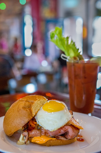 Vegetable Juice「Ham, Egg and Cheese Sandwich with Bloody Mary」:スマホ壁紙(17)