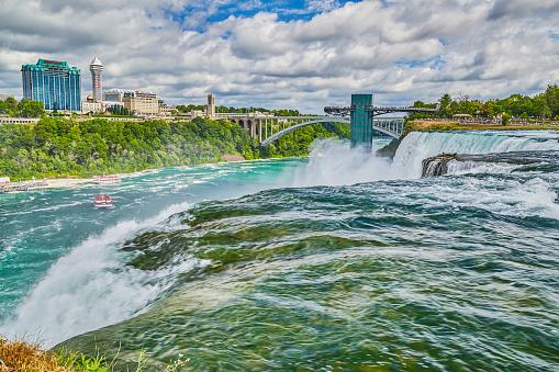 American Falls「American Falls and Observation tower,Niagara Falls」:スマホ壁紙(14)
