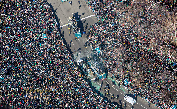 Philadelphia Eagles「Super Bowl LII - Philadelphia Eagles Victory Parade」:写真・画像(10)[壁紙.com]