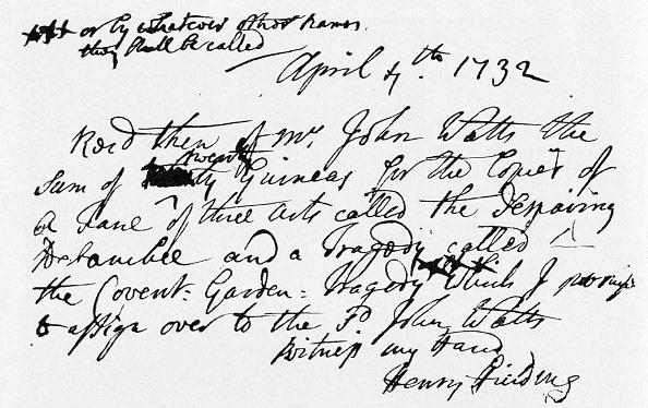 Writing「Henry Fielding - the」:写真・画像(5)[壁紙.com]