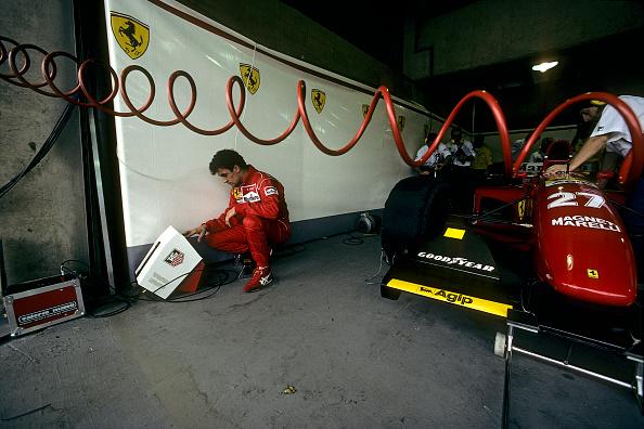 Ferrari「Jean Alesi, Grand Prix Of Brazil」:写真・画像(18)[壁紙.com]