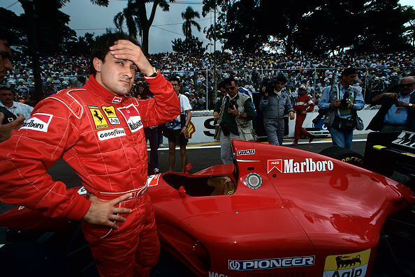 Ferrari「Jean Alesi, Grand Prix Of Brazil」:写真・画像(17)[壁紙.com]