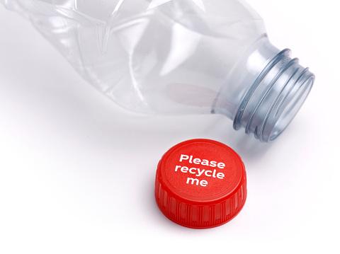 Bottle Cap「Recycle plastic bottle please」:スマホ壁紙(17)