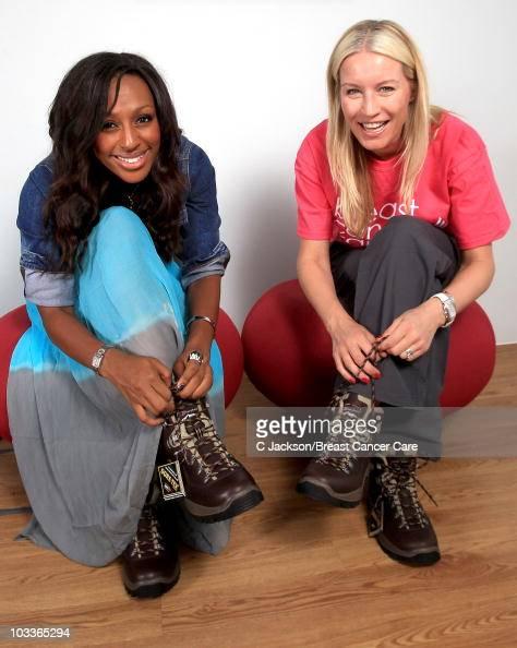 Breast「Denise Van Outen And Alexandra Burke prepare For Breast Cancer Care Trek」:写真・画像(11)[壁紙.com]