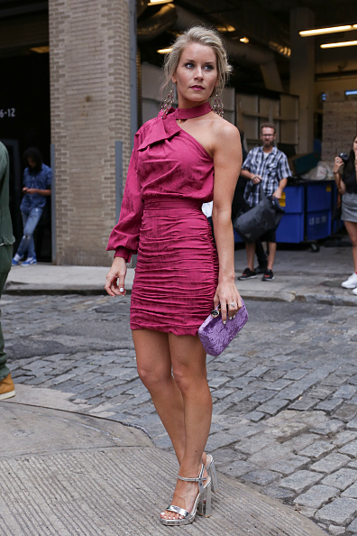 Achim Aaron Harding「Street Style - New York Fashion Week September 2018 - Day 3」:写真・画像(14)[壁紙.com]