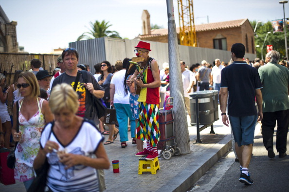 Sagrada Familia - Barcelona「Tourists Flock To Barcelona As Spain Inches Towards A Full-Scale Bailout」:写真・画像(2)[壁紙.com]