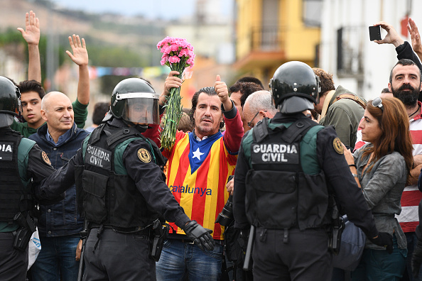 Catalonia「Independence Referendum Takes Place In Catalonia」:写真・画像(7)[壁紙.com]