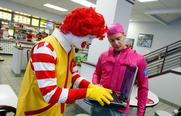 Wireless Technology「McDonald's Restaurants In Northern California Feature Wireless Access」:写真・画像(5)[壁紙.com]