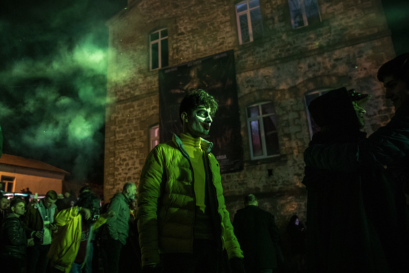 Bestof「Bocuk Festival Brings Out Ghouls And Ghosts In Edirne」:写真・画像(15)[壁紙.com]