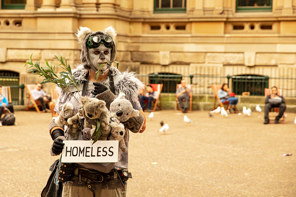 オーストラリア「Activists Rally For Climate Action As NSW Battles Bushfires」:写真・画像(4)[壁紙.com]