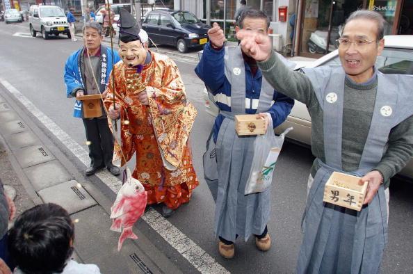 Setsubun「Japan Celebrates The End Of Winter  」:写真・画像(7)[壁紙.com]