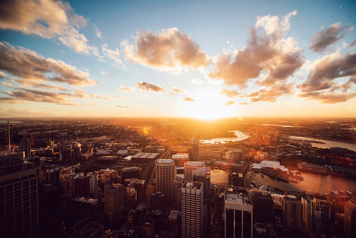 City Life「Sky above Sydney」:スマホ壁紙(12)