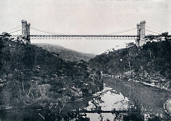 Riverbank「Suspension Bridge」:写真・画像(6)[壁紙.com]