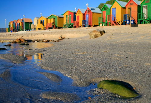 Changing Cubicle「St James Beach in Cape Town, South Africa」:スマホ壁紙(11)