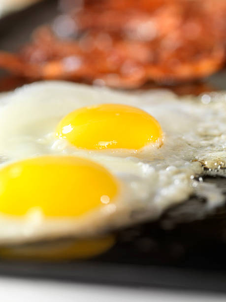 Sunny Side Up Eggs with Bacon:スマホ壁紙(壁紙.com)