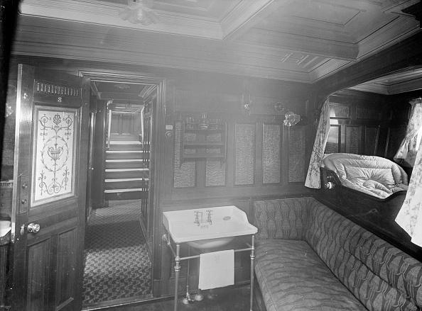 船・ヨット「Cabin On The Steam Yacht Venetia」:写真・画像(3)[壁紙.com]