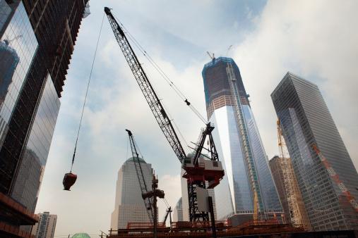 かえる「Overall view of Construction at World Trade Center」:スマホ壁紙(9)