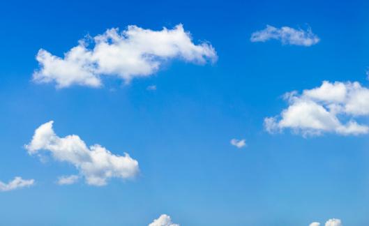 cloud「空に雲」:スマホ壁紙(7)