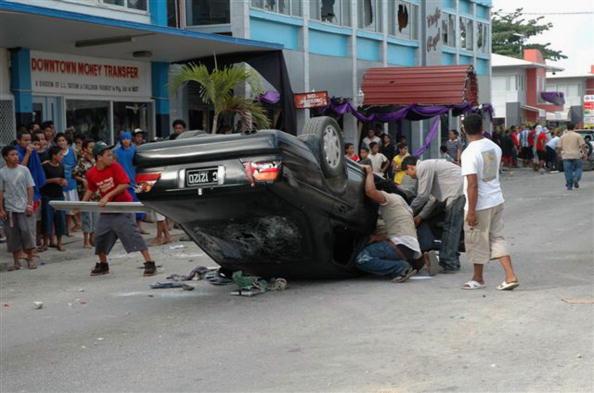 Nuku'alofa「Civil Unrest Escalates In Tonga」:写真・画像(2)[壁紙.com]