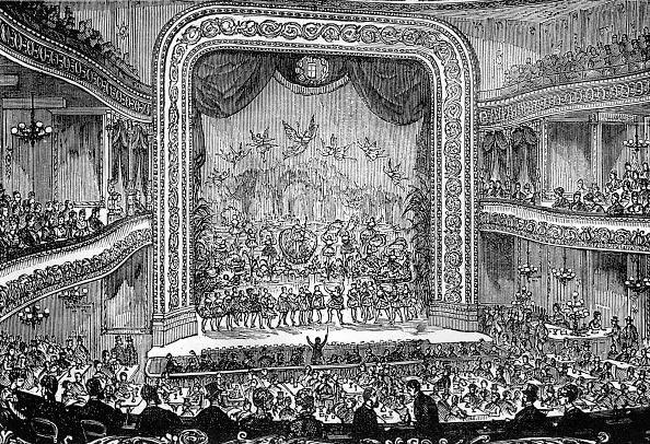 Conductor's Baton「19th century theatre interior」:写真・画像(5)[壁紙.com]