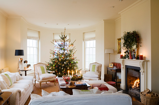 Mistletoe「19th century farmhouse conversion decorated for Christmas」:スマホ壁紙(19)