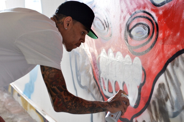 Graffiti「Chris Brown Joins Forces With Graffiti Artist Slick To Raise Funds For Best Buddies International」:写真・画像(18)[壁紙.com]