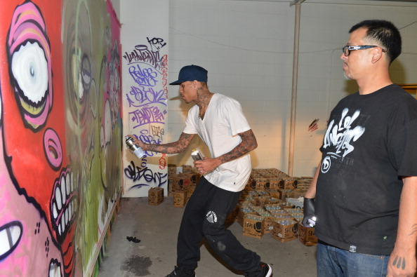 Graffiti「Chris Brown Joins Forces With Graffiti Artist Slick To Raise Funds For Best Buddies International」:写真・画像(19)[壁紙.com]