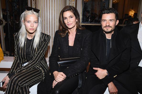オーランド・ブルーム「Balmain Homme : Front Row - Paris Fashion Week - Menswear F/W 2018-2019」:写真・画像(12)[壁紙.com]