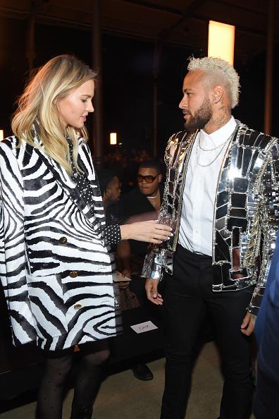 Neymar da Silva「Balmain : Front Row - Paris Fashion Week - Menswear F/W 2020-2021」:写真・画像(10)[壁紙.com]