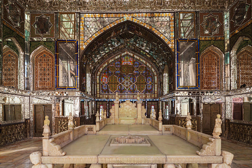 Iran「The Marble Throne Verandah Golestan Palace」:スマホ壁紙(7)