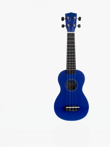 Ukelele「Blue guitar」:スマホ壁紙(15)