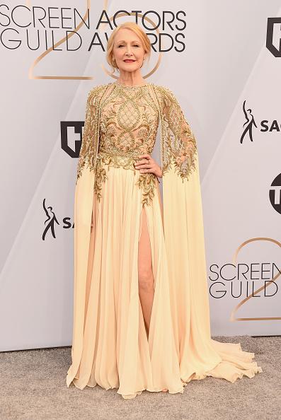 Nude Colored Dress「25th Annual Screen Actors Guild Awards - Arrivals」:写真・画像(7)[壁紙.com]