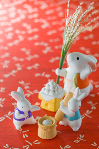 Tsukimi Dango「Rabbit Ornament for Tsukimi」:スマホ壁紙(19)
