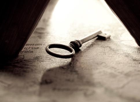 Skeleton Key「Key open the knowledge」:スマホ壁紙(16)