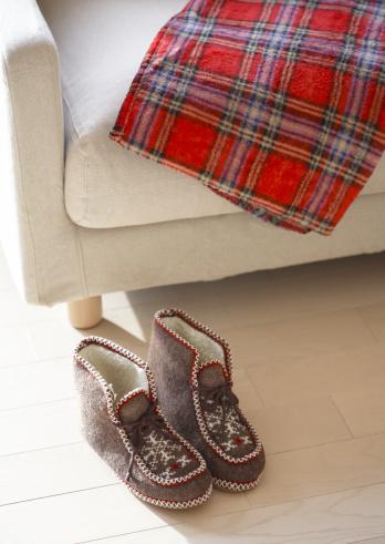 スカーフ「Indoor shoes」:スマホ壁紙(7)