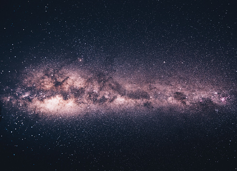 Namibia「purple milky way on the sky」:スマホ壁紙(18)