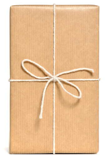 Gift「Brown wrapped parcel」:スマホ壁紙(2)